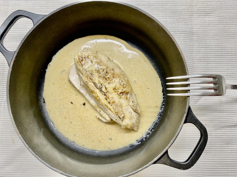 Filet de poulet français à la crème cajun