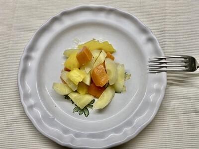 Mélange de carottes anciennes