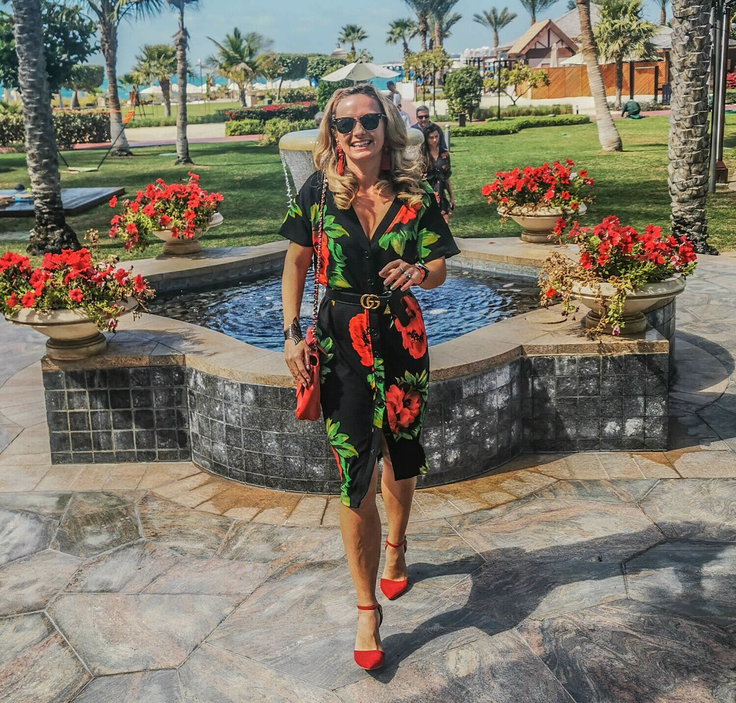 The Courtyard Dress: Button Down in Black