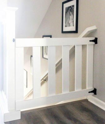 Toddlers/Baby Wooden Stair Gate