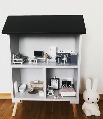 Scandi: Dolls House/Storage unit