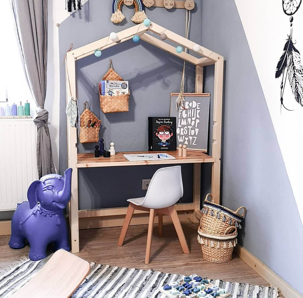 Wooden House Desk