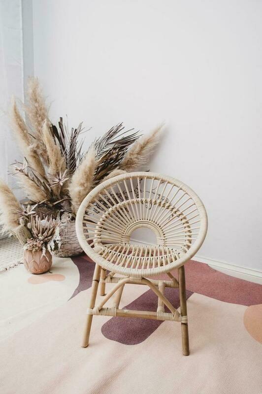 Raine Rattan Kids Chair