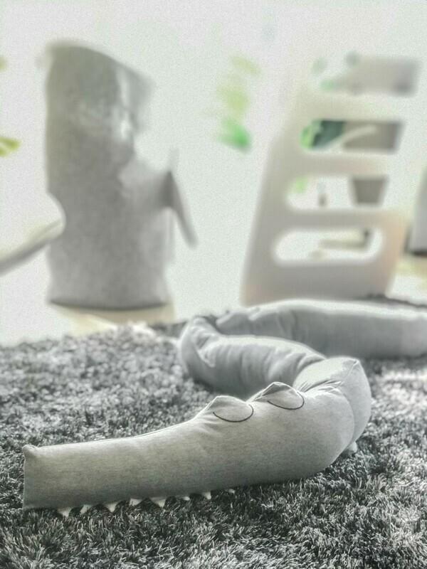 Croc Baby Crib Bumper