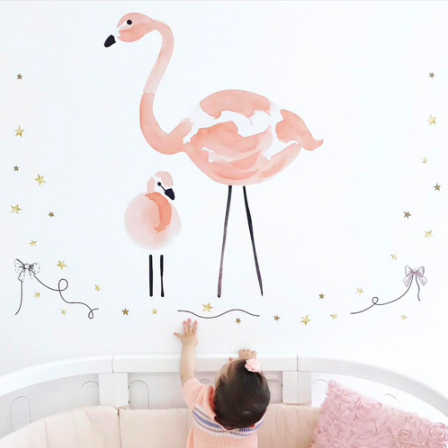 Flamingo Wall Stickers/Decals