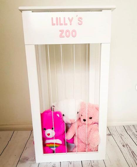 Personalized Teddy Storage/Zoo