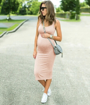 The Florence: Fitted Mid Length Dress