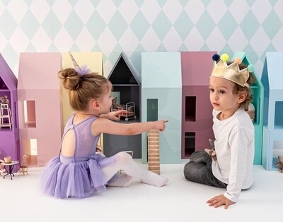 House Shelf Series - Set of 5