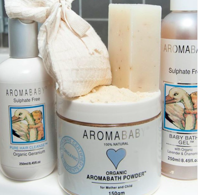 Aromababy: Natural Baby Bath Time Package