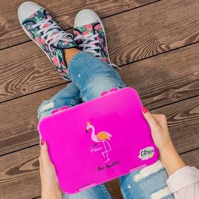 Lunch box - Flamingo