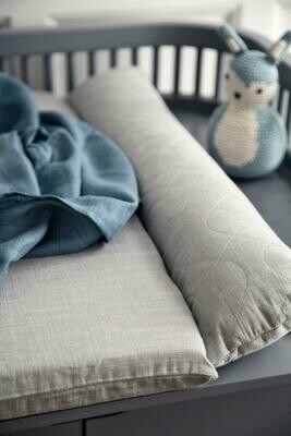 Changing Pillow - Quilted Elephant Grey