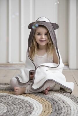 Hooded Towel - Milo the Bear