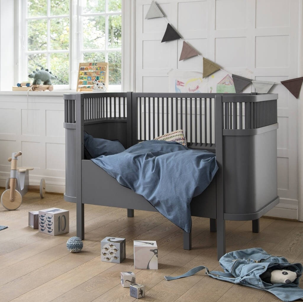 Baby & Jr. Extention Bed - Grey