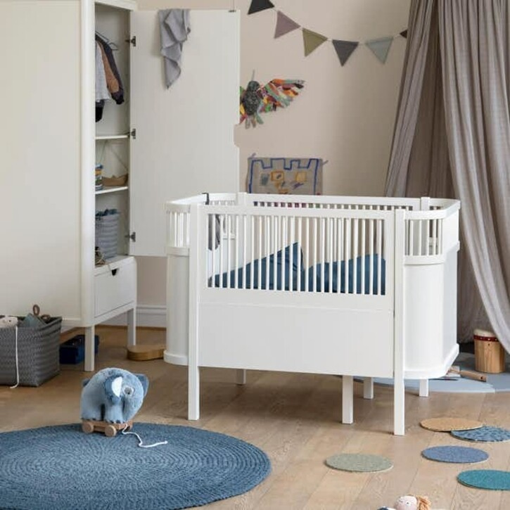 Baby & Jr. Extention Bed  - White