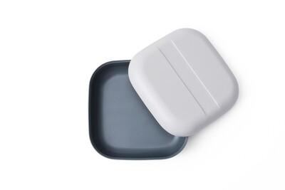 Go Duo Color Snack Box - Grey