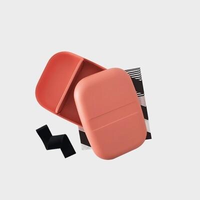 Go Rectangular Bento Lunch Box - Coral