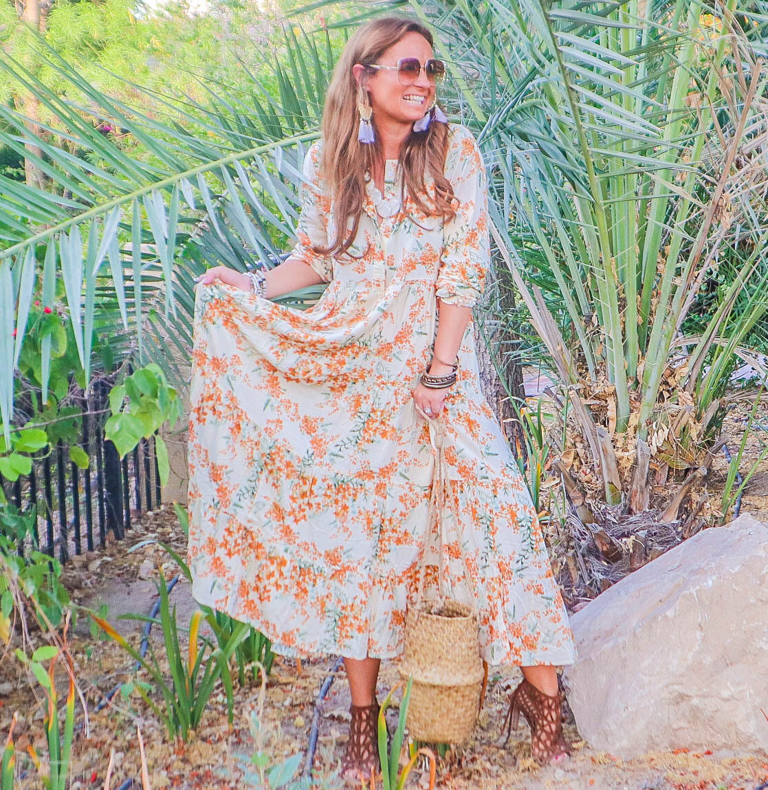 The Milly:  Floral Dress