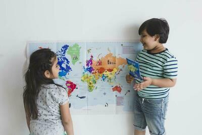 Interactive World Map Kit