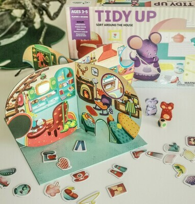 Tidy Up - Board Game