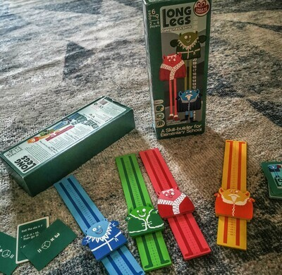 Long Legs - Maths Game
