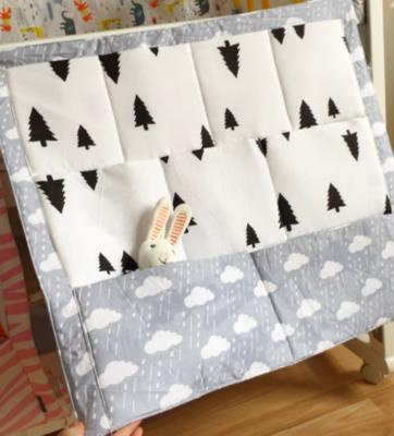 Baby Crib Pocket Storage Organizer