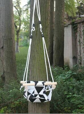Baby Swing Hammock Seat Set - Hanging Chair with Cushion