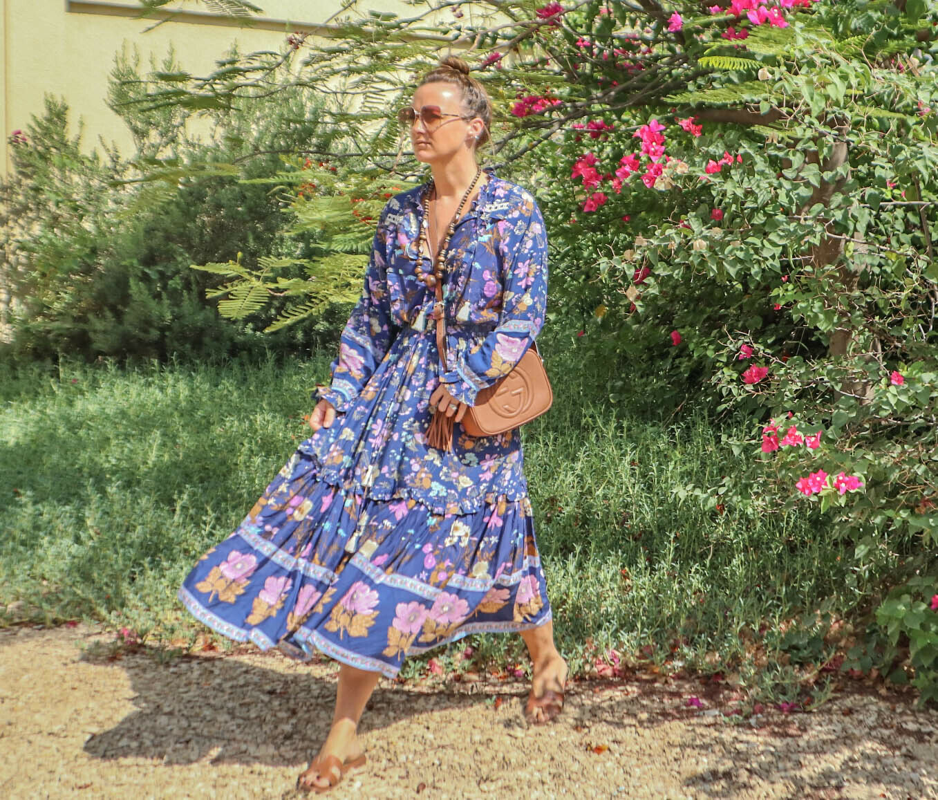 The Else: Blue Floral Dress