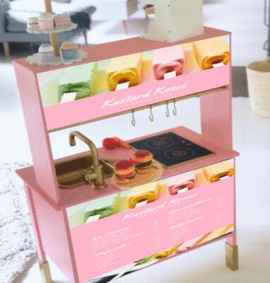 Duktig Kitchen: Decals for Reverse - Pastel Pops