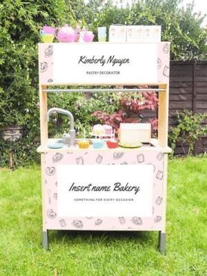 Duktig Kitchen: Decals for Reverse - Bakery