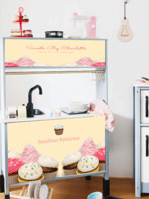 Duktig Kitchen: Decals for Reverse - Sweets by..