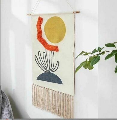 Pergo Nordic Wall Hanging Cotton Tapestry