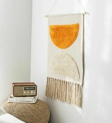 Margo Nordic Wall Hanging Cotton Tapestry