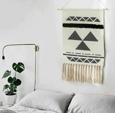 Bella Nordic Wall Hanging Cotton Tapestry
