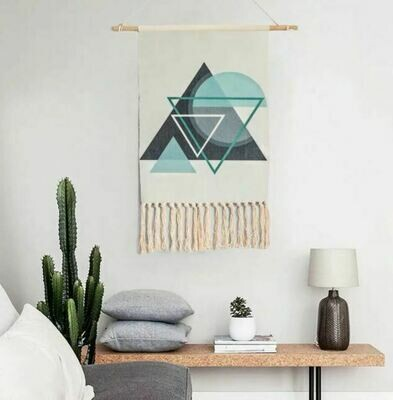 Sergo Nordic Wall Hanging Cotton Tapestry