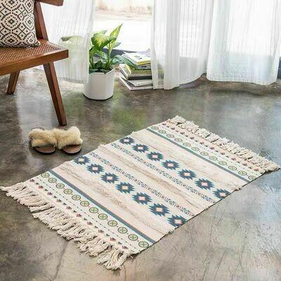 Handmade Shadd Nordic Style Floor Rug with Tassels