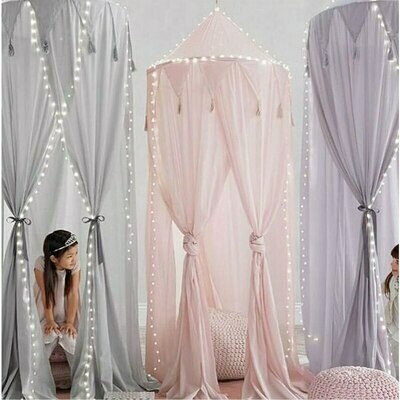 Chiffon Tent and Canopy Nursery Decor - Pink