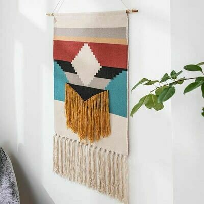 Tiger Nordic Wall Hanging Cotton Tapestry
