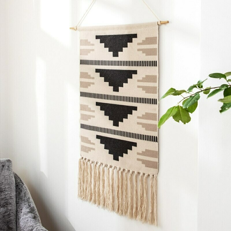Ergo Nordic Wall Hanging Cotton Tapestry