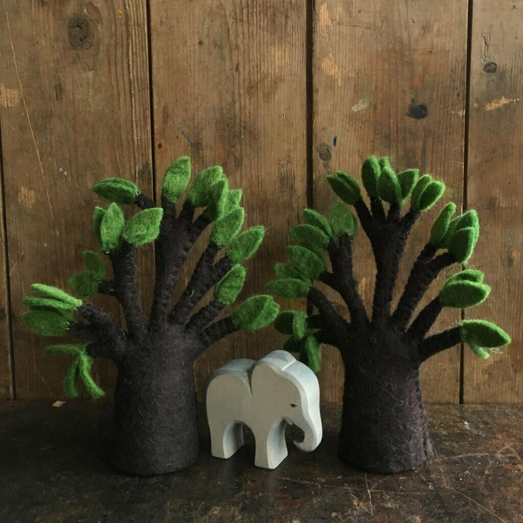 Felt Baobab Tree - Set of 2