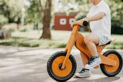 Balance Bike - Bamboo - Natural