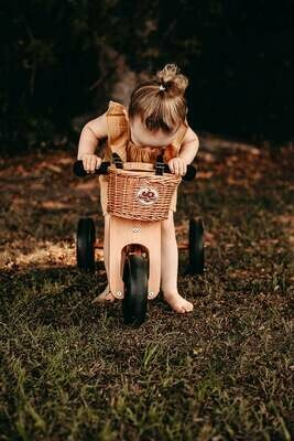 Wicker Bike Basket - Natural