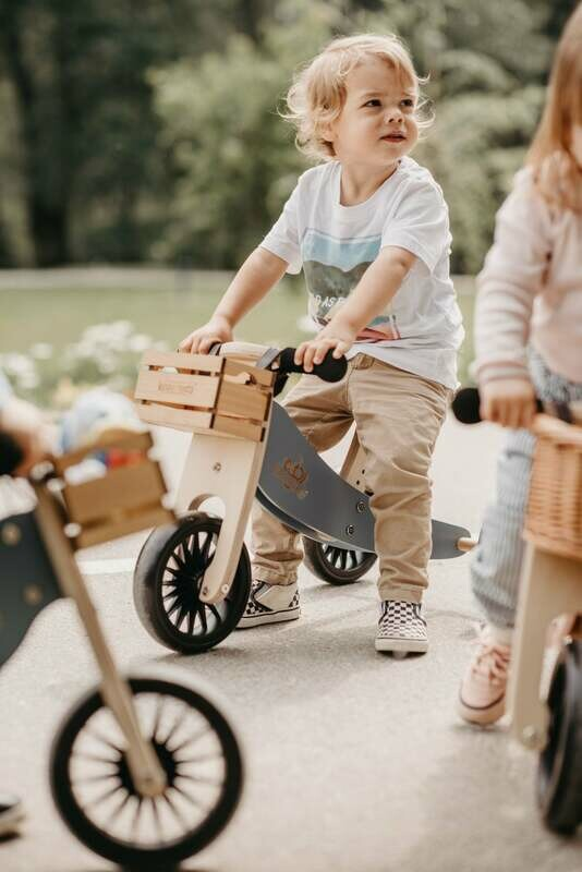 Crate Basket for Bike - Natural