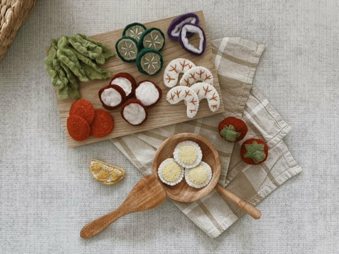 Felt Salad - 30 Piece Set
