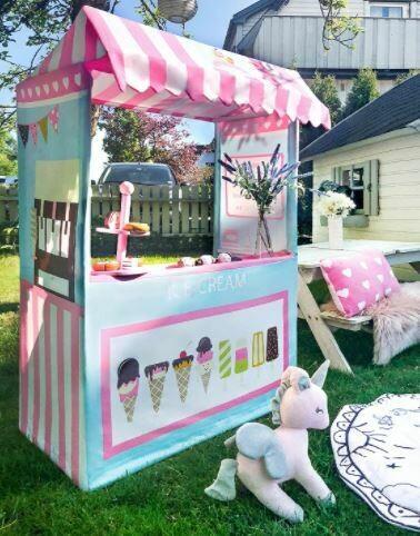 Ice Cream Pop Up Tent