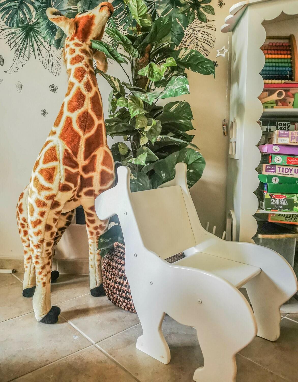 Wooden Montessori Giraffe Chair