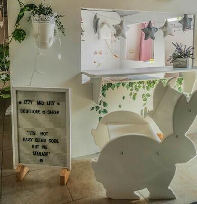 Wooden Montessori Bunny Chair