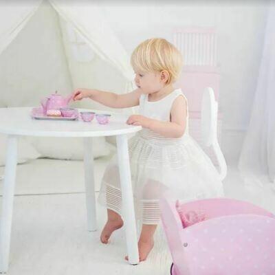 Tin Tea Set with Case