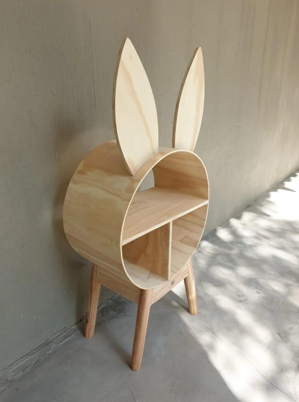 Wooden Bunny Storage Shelf/Unit