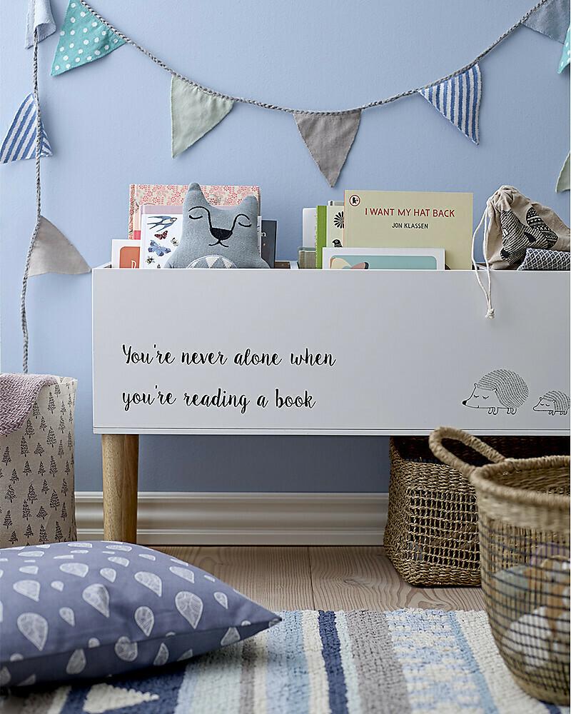 Wooden Bookcase - White