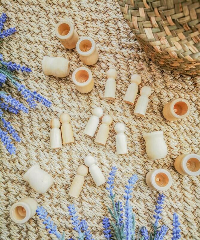 DIY Counting Educational Montessori Set - 10 Pieces